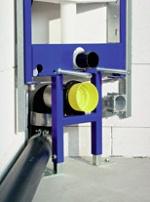 Montáž vypouštěcího ventilu wc