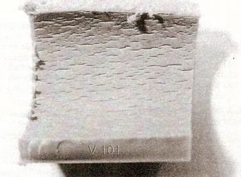 Obr. 6 Vnitřní povrch polypropylenového potrubí