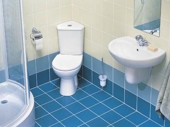 Rohový záchod