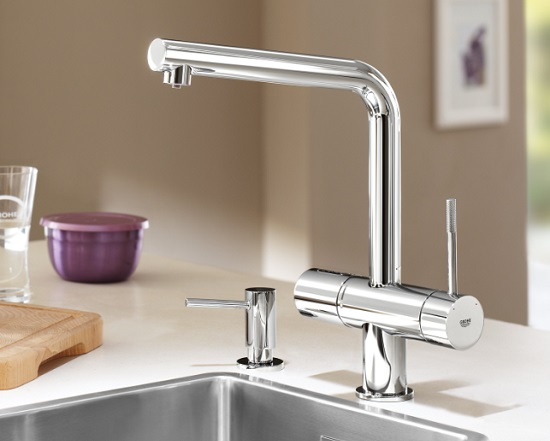 Kuchy�sk� baterie GROHE Blue® Minta