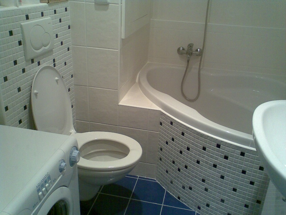 Oprava koupelny a wc